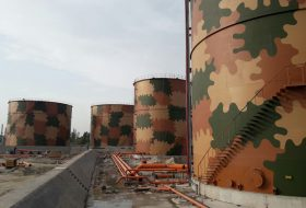 Construction of Product Storage Tanks at APL's Mahmood Kot Terminal.