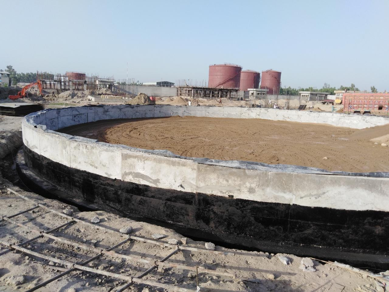 Construction of Bulk Oil Depot (Civil, Mechanical, Electrical & Instrumentation Works) at Mahmood Kot For Be Energy Limited.