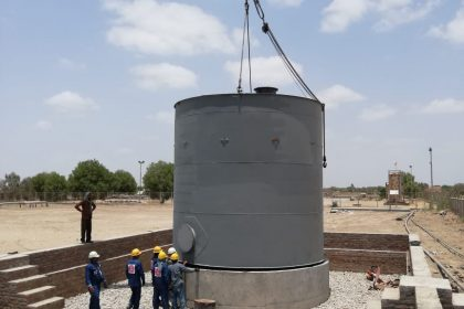 Construction of Storage Tanks at CMF-II Daharki For Mari Petroleum Company Limited