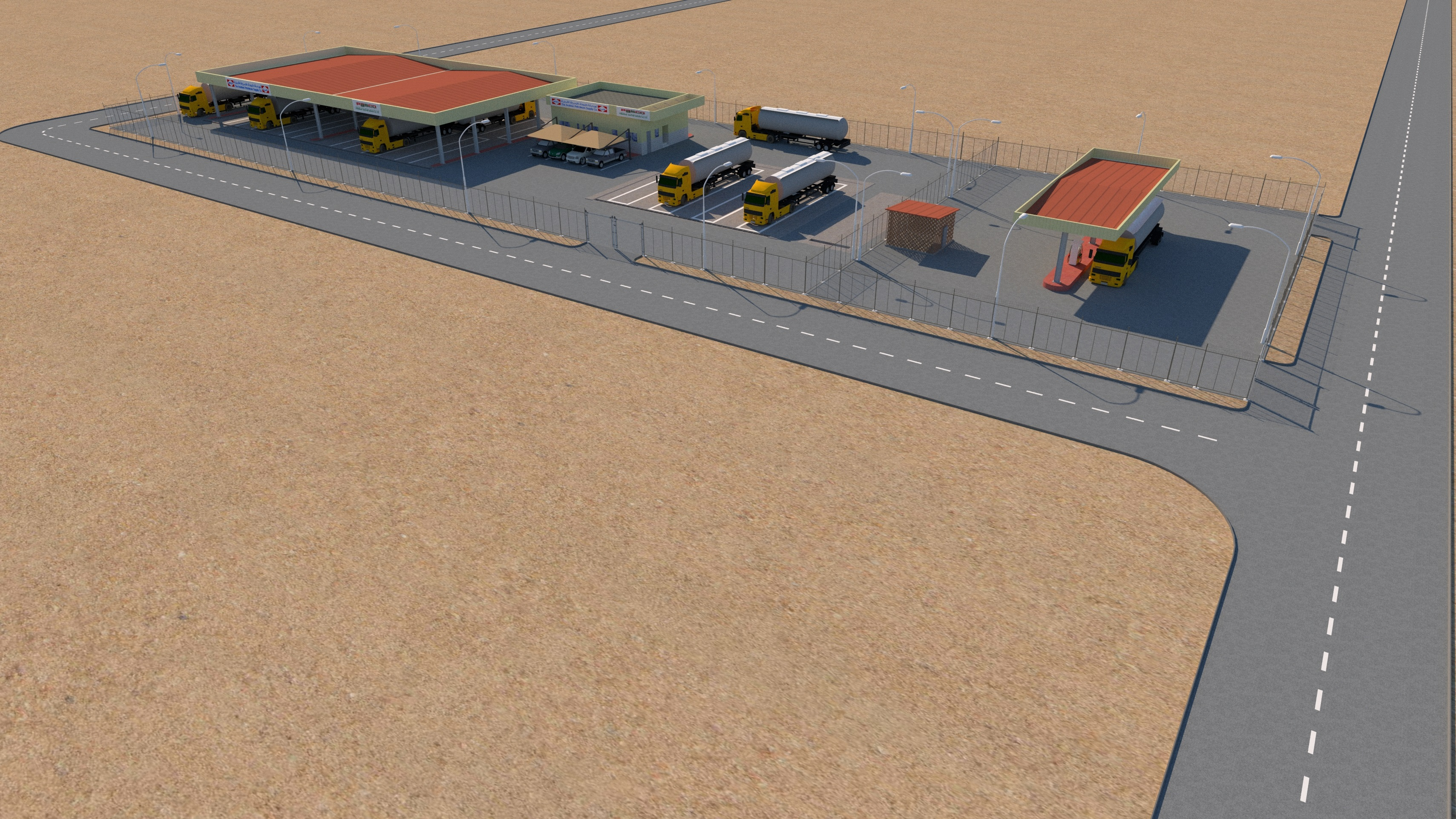 Turnkey CONSTRUCTION PROJECT FOR OPERATION & MAINTENANCE FACILITY JET FUEL REFUELLERS AT MADINAH AIRPORT.